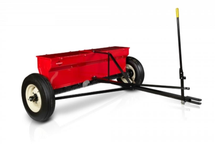 Drop Spreader With Tow Hitch