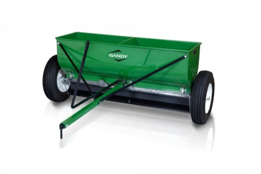 42 Variable Rate Drop Spreader With Tow Hitch And 16 Pneumatic Wheels Gandy