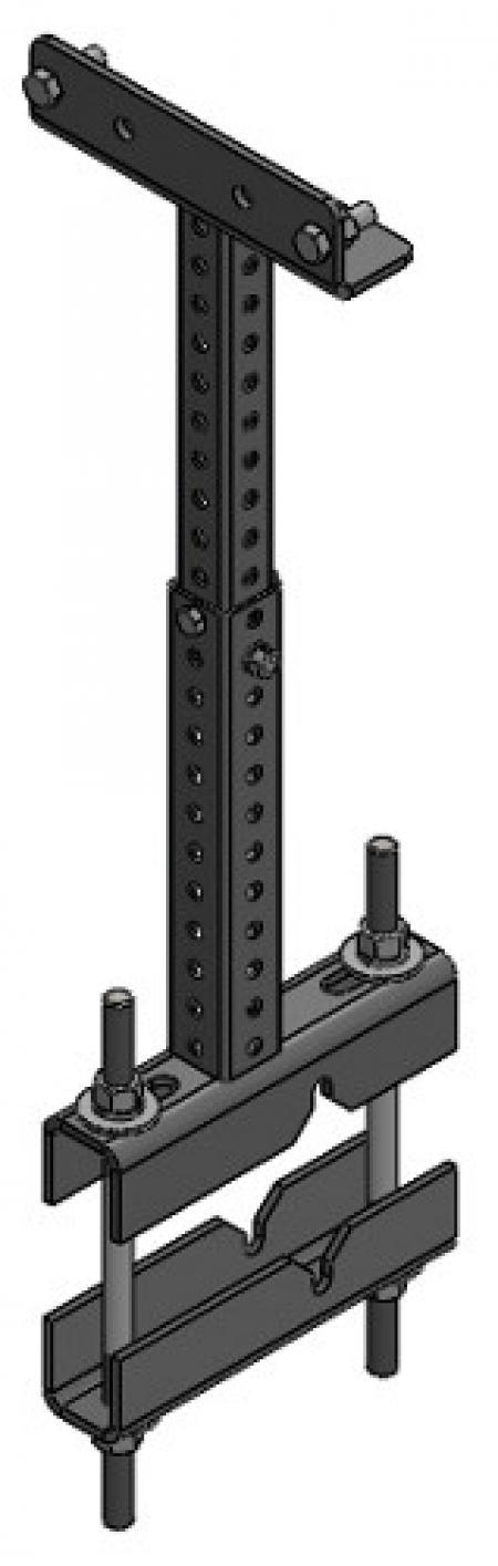 "14""-24"" Adjustable Tool Bar Mount"