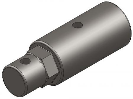 """2.5"""" Long Shaft Connector"""