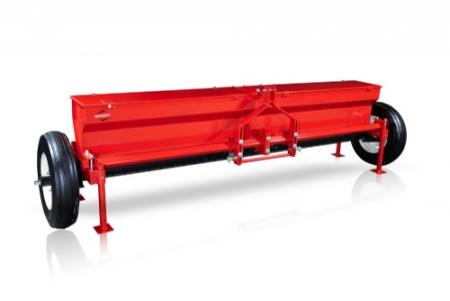 10-ft. Drop Spreader with End-Wheel Drive