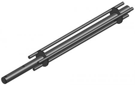 """24"""" Tri-Rod Rotor Bar"""