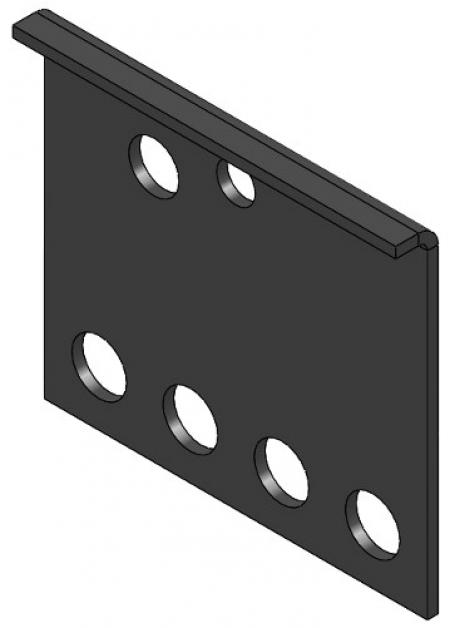 """S"" Hook Mounting Bracket"