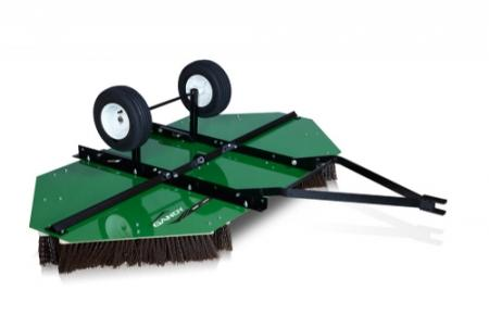 Sweep Master Turf Brush with Steel Deck