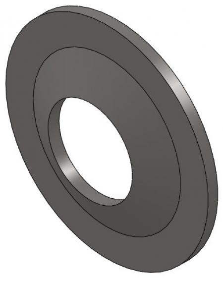 Slotted Extruded Washer