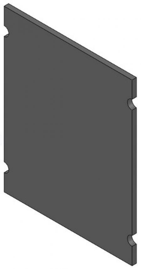Stainless Steel Blank Plate