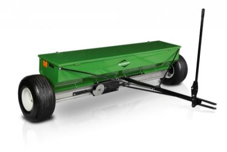 "4-ft. ASB Spreader with Tow Hitch and 18"" Flotation Tires"
