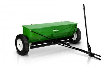 "5-ft. Drop Spreader with Tow Hitch and 16"" Pneumatic Wheels"