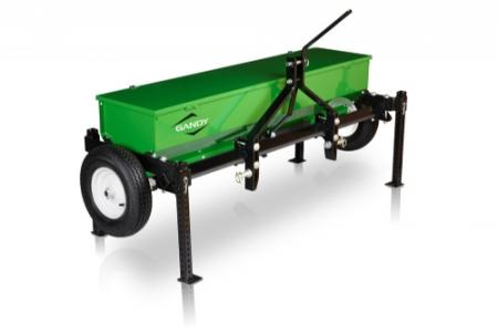 "6-ft. Drop Spreader with 3-Pt. Hitch and 16"" Pneumatic Wheels"