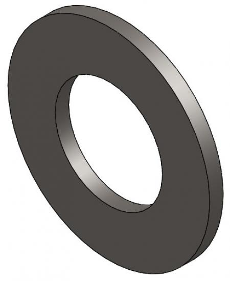 "1"" SAE Flat Zinc Washer"