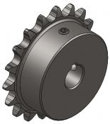 "18-Tooth Sprocket with 5/8"" Round Bore with Keyway"