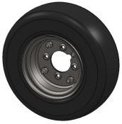 4-Ply Tire and Rim Assembly